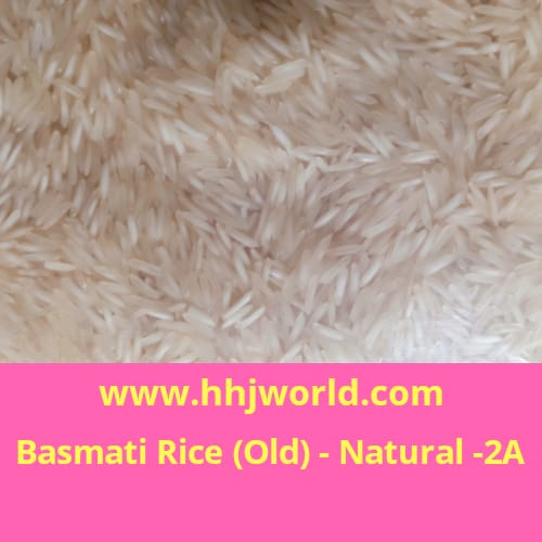 Basmati Rice Old- Natural- 2A