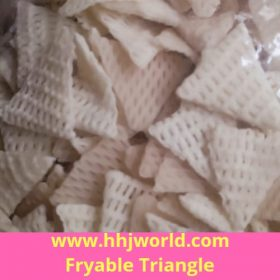 Triangle Fryable Snack